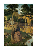 The Temptation of Saint Anthony, Ca. 1490, Flemish School Giclee Print by Hieronymus Bosch