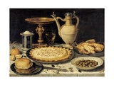 Table, 1610-1615, Flemish School Giclee Print by Clara Peeters