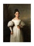La Infanta María Luisa Teresa De Borbón, Duquesa De Sessa, 1834, Spanish School Giclee Print by Antonio Maria Esquivel