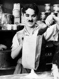 "Charlie Chaplin. ""Shop"" 1916, ""The Floorwalker"" Directed by Charles Chaplin Photographic Print"