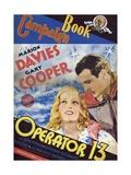 Operator 13, 1934, Directed by Richard Boleslavski Giclee Print