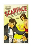 Scarface, 1932, Directed by Howard Hawks Impression giclée