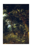 The Earthly Paradise, Ca. 1620, Flemish School Giclee Print by Jan Brueghel the Younger