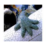 Park Guell, Barcelona: El Drac Giclee Print by Antoni Gaudí