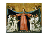 The Virgin of the Caves, 17th Century, Spanish Baroque Giclee Print by Francisco de Zurbaran