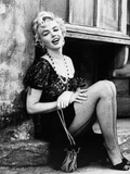 "Marilyn Monroe. ""Bus Stop"" 1956, Directed by Joshua Logan Fotografisk trykk"
