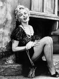 Bus Stop, Marilyn Monroe, Directed by Joshua Logan, 1956 Fotografie-Druck