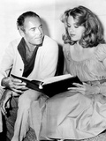"Henry Fonda, Jane Fonda. ""Tall Story"" 1960, Directed by Joshua Logan Photographic Print"