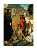 The Resurrection of Lazarus, 1510-1518 Giclee Print by Juan De flandes