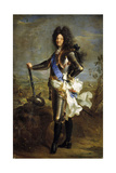 Louis Xiv, 1701, French School Giclee Print by Hyacinthe Rigaud