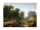 Lanscape, 1773, French School Giclee Print by Jean-Baptiste Pillement