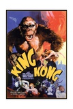 "Kong, 1933, ""King Kong"" Directed by Merian C. Cooper, Ernest B. Schoedsack Reproduction procédé giclée"