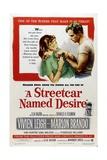 A Streetcar Named Desire, 1951, Directed by Elia Kazan Digitálně vytištěná reprodukce