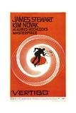 "Listen Darkling, 1958, ""Vertigo"" Directed by Alfred Hitchcock Gicléedruk"