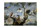 Concert of the Birds, 1629-1630, Flemish School Giclee Print by Frans Snyders