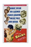 The Bribe, 1949, Directed by Robert Z. Leonard Giclée-tryk