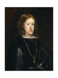 Charles Ii, King of Spain, Ca. 1680, Spanish School Giclee Print by Juan Carreño de miranda