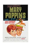 Mary Poppins, 1964, Directed by Robert Stevenson Giclee Print