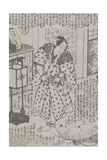 "Ilustración De La Novela De Tamegawa Shunsui Jidai Kagami ""La Era del Espejo"" 1860 Giclee Print by Wakasaya Yoichi"