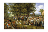 Wedding Banquet Presided Over by the Archduke And Infanta, Ca. 1622, Flemish School Giclee Print by Jan Brueghel the Elder