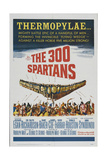 The 300 Spartans, 1962, Directed by Rudolph Mate Giclee Print
