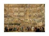 Masked Ball, 1766, Spanish Baroque Giclee Print by Luis Paret y Alcazar