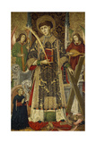 Saint Vincent, Deacon And Martyr, 1462-1466, Spanish School Giclee Print by Tomas Giner