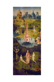 The Garden of Earthly Delights: the Garden of Eden, 1503-1504, Dutch School Giclee Print by Hieronymus Bosch