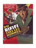 "Rififi, 1955, ""Du Rififi Chez Les Hommes"" Directed by Jules Dassin Gicleetryck"
