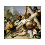 Jesus Falls On the Path To Calvary, 1772, Italian School Giclee Print by Giovanni Domenico Tiepolo