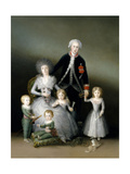 The Duke And Duchess of Osuna And Their Children, 1787, Spanish School Giclee Print by Francisco De Goya