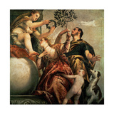 Four Allegories of Love: Happy Union, Ca. 1570 Giclee Print by Paolo Veronese