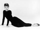 "Audrey Hepburn. ""Sabrina Fair"" 1954, ""Sabrina"" Directed by Billy Wilder. Diseñador: Givenchy Fotografisk tryk"