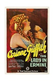 The Lady In Ermine, 1927, Directed by James Flood Giclee Print