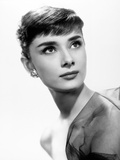 "Audrey Hepburn. ""Sabrina Fair"" 1954, ""Sabrina"" Directed by Billy Wilder Fotografie-Druck"