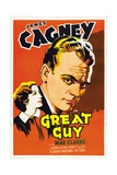 "Pluck of the Irish, 1936, ""Great Guy"" Directed by John G. Blystone Giclee Print"