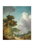 The Swing, Ca. 1765 Reproduction procédé giclée par Jean-Honore Fragonard