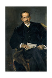 Portrait of Jacinto Octavio Picón, 1903, Spanish School Giclee Print by Jose Villegas cordero