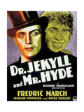 Dr. Jekyll And Mr. Hyde, 1931, Directed by Rouben Mamoulian Giclee Print