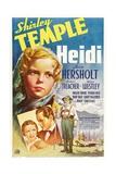 Heidi, 1937, Directed by Allan Dwan Giclee Print