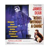 Rebel Without a Cause, 1955, Directed by Nicholas Ray Digitálně vytištěná reprodukce