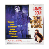 Rebel Without a Cause, 1955, Directed by Nicholas Ray Gicléetryck