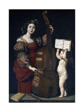 Saint Cecilia, Italian School Giclee Print