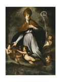 Transit of Saint Januarius, 17th Century, Italian School Giclee Print by Andrea Vaccaro
