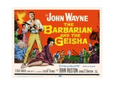 "The Barbarian, 1958, ""The Barbarian And the Geisha"" Directed by John Huston Giclee Print"