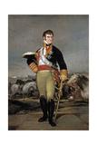 Fernando Vii At Camp, Ca. 1815, Spanish School Giclee Print by Francisco De Goya
