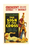 The Sign of the Cross, 1932, Directed by Cecil B. Demille Giclee Print