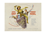 Calamity Jane, 1953, Directed by David Butler Giclee Print
