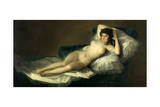 The Nude Maja, 1795-1800, Spanish School Giclee Print by Francisco de Goya