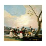 Blind Man's Buff, 1787, Spanish School Giclee Print by Francisco De Goya